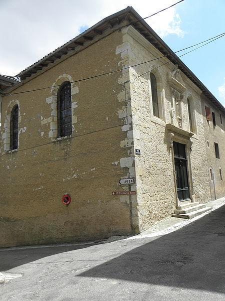 Photo du Monument Historique Chapelle des Carmélites situé à Lectoure
