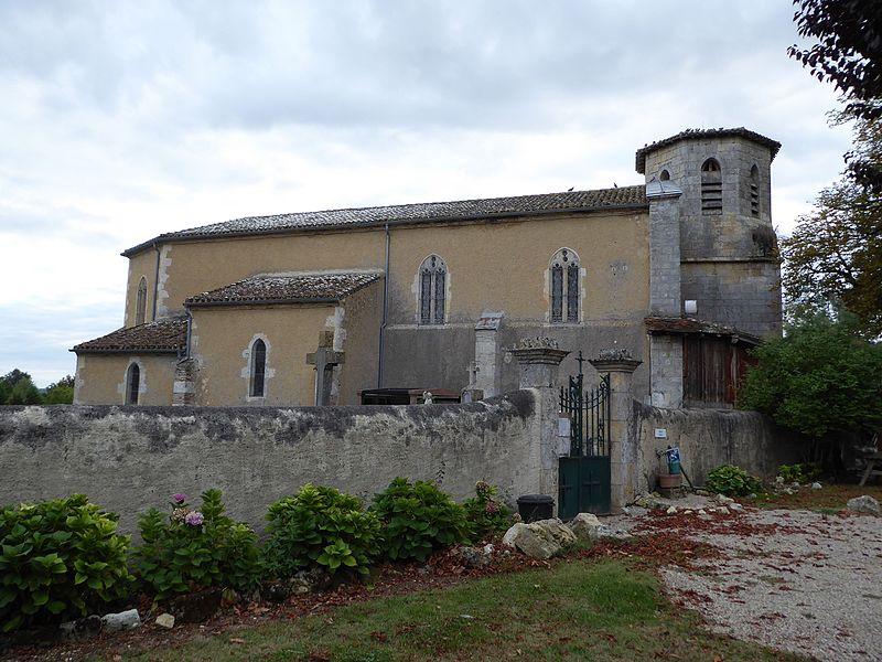 Photo du Monument Historique Eglise paroissiale Sainte-Blandine situé à Castet-Arrouy