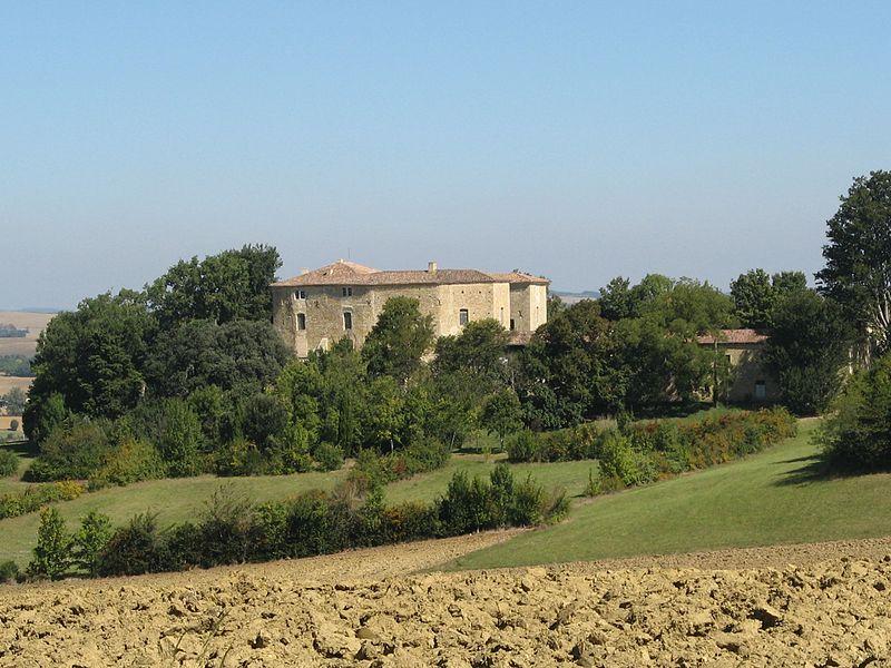 Photo du Monument Historique Château de Sérillac situé à Sauvetat (La)