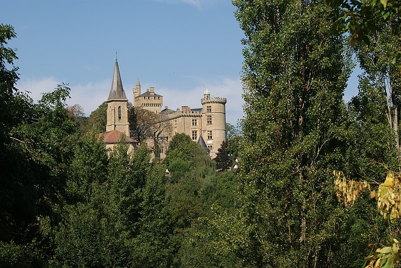 Photo du Monument Historique Château situé à Saint-Blancard
