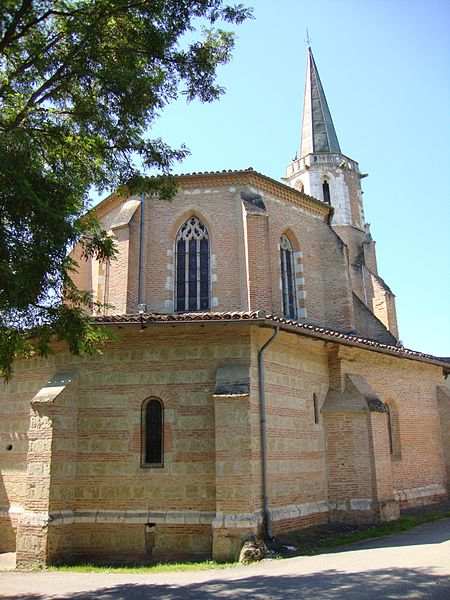 Photo du Monument Historique Chapelle Notre-Dame de Cahuzac situé à Gimont