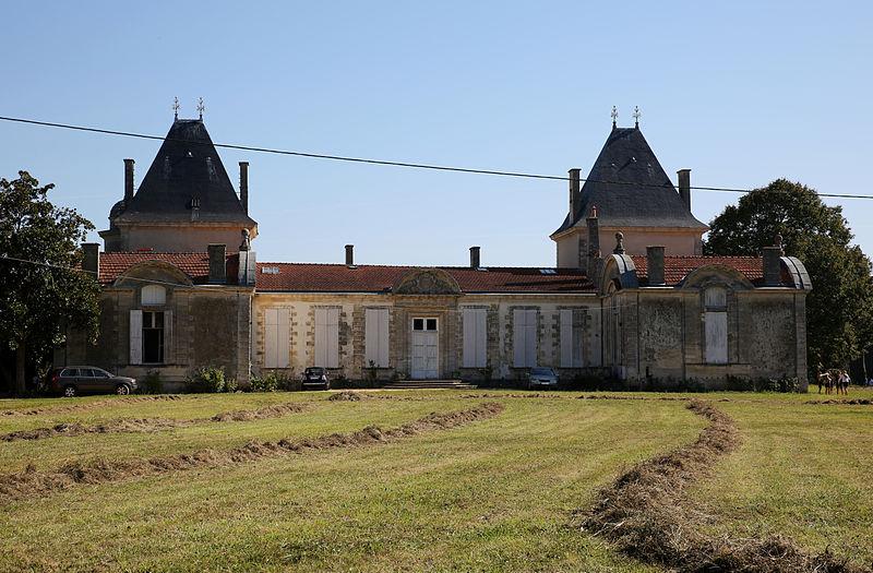 Photo du Monument Historique Château de Peychaud situé à Ambarès-et-Lagrave