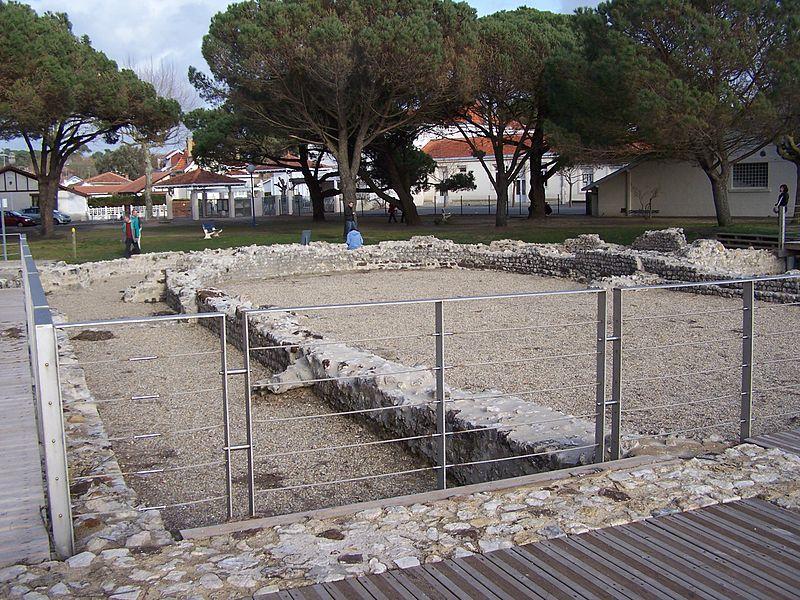 Photo du Monument Historique Substructions gallo-romaines situé à Andernos-les-Bains