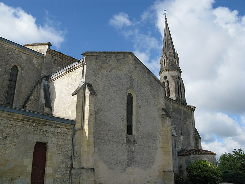Photo du Monument Historique Eglise paroissiale Saint-Germain situé à Arsac