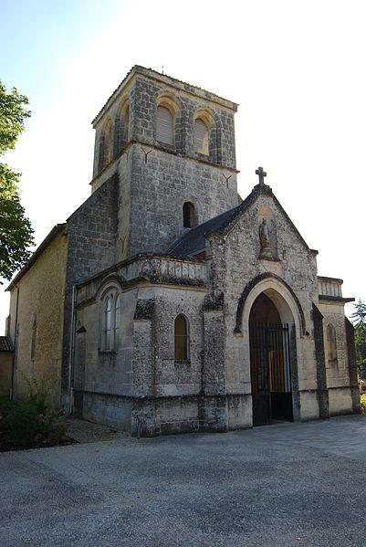 Photo du Monument Historique Eglise Saint-Seurin situé à Artigues-près-Bordeaux
