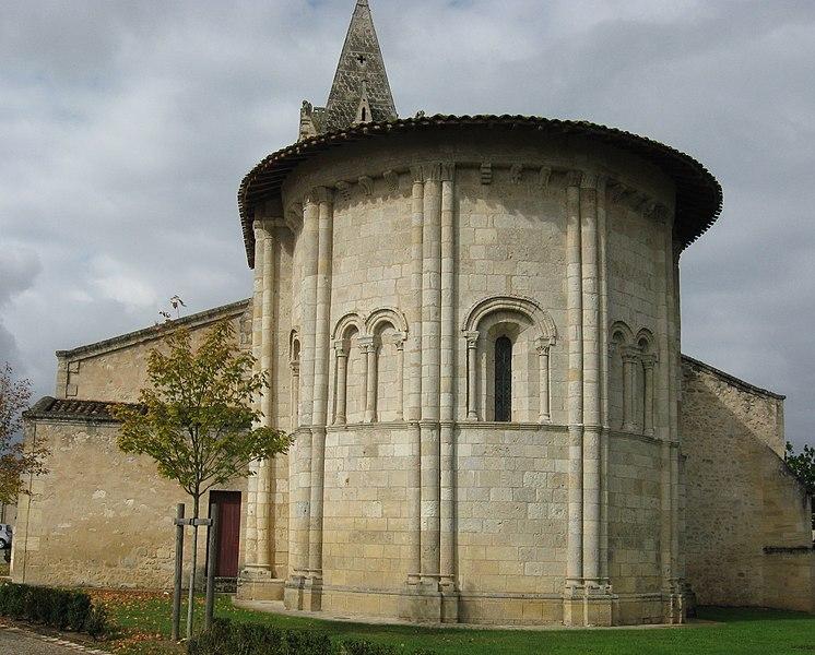 Photo du Monument Historique Eglise Saint-Pierre situé à Avensan