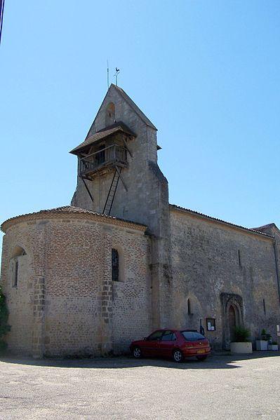 Photo du Monument Historique Eglise Notre-Dame situé à Bagas