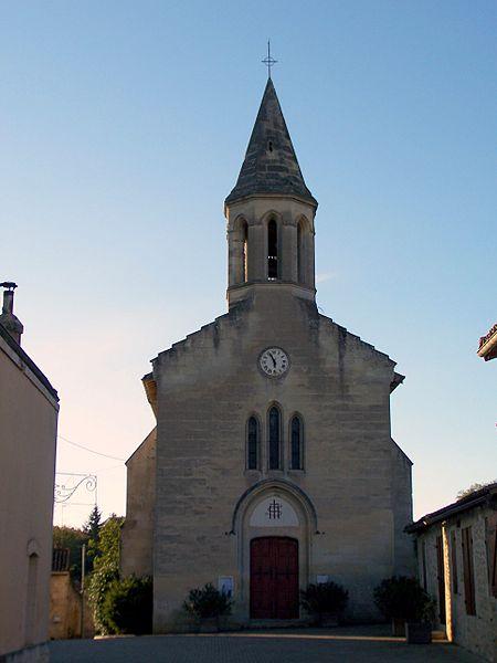 Photo du Monument Historique Eglise Saint-Pierre-et-Saint-Paul situé à Baigneaux