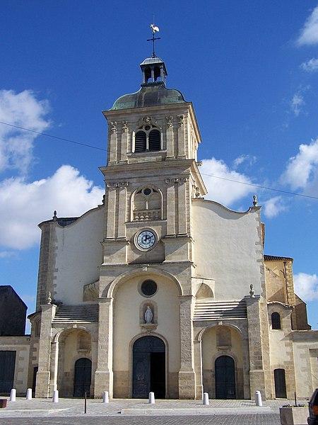 Photo du Monument Historique Eglise Saint-Vincent situé à Barsac