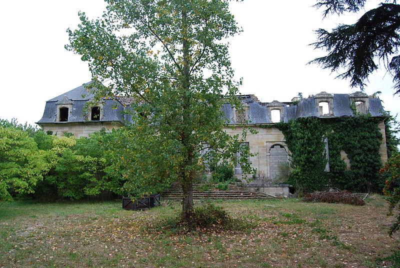Photo du Monument Historique Château Morin situé à Bassens