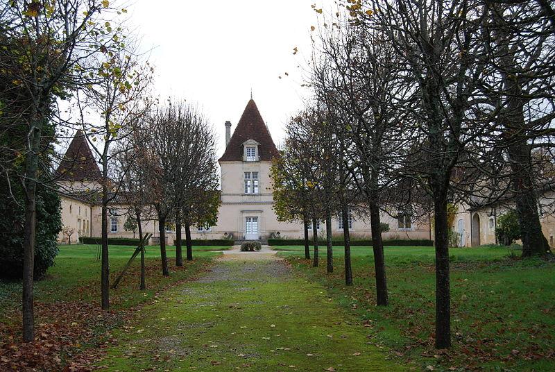 Photo du Monument Historique Château de Lyde et sa chapelle situé à Baurech
