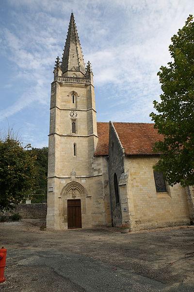 Photo du Monument Historique Eglise Saint-Saturnin situé à Baurech