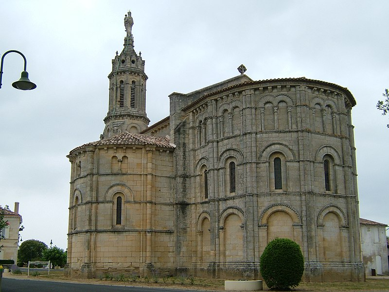 Photo du Monument Historique Eglise Notre-Dame situé à Bayon-sur-Gironde