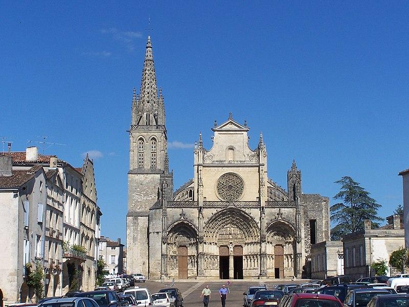 Photo du Monument Historique Ancienne cathédrale, dite église Saint-Jean situé à Bazas