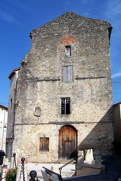 Photo du Monument Historique Ancienne église Notre-Dame dou Mercadilh situé à Bazas