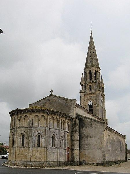 Photo du Monument Historique Eglise Saint-Saturnin situé à Bégadan