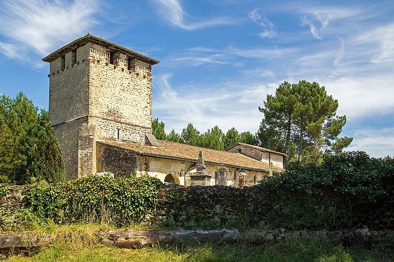 Photo du Monument Historique Eglise Saint-Pierre de Mons situé à Belin-Béliet