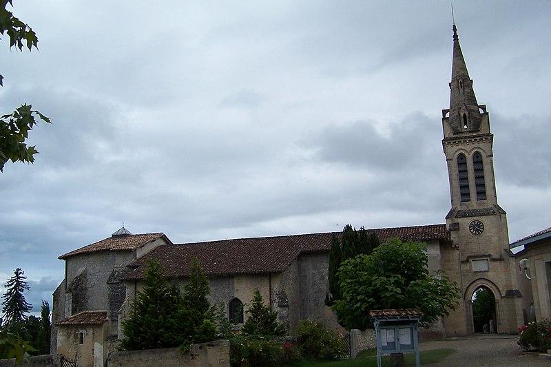 Photo du Monument Historique Eglise Notre-Dame de Bernos situé à Bernos-Beaulac