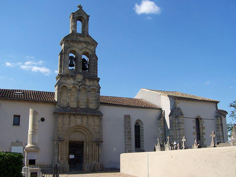Photo du Monument Historique Eglise Saint-Saturnin situé à Blaignac