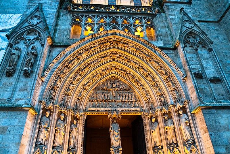Photo du Monument Historique Cathédrale Saint-André situé à Bordeaux