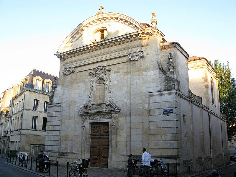 Photo du Monument Historique Chapelle Saint-Joseph situé à Bordeaux