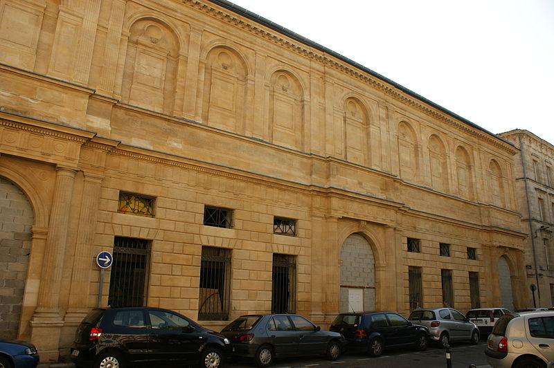 Photo du Monument Historique Ancienne Ecole de médecine et de chirurgie, puis annexe de la bourse du travail situé à Bordeaux