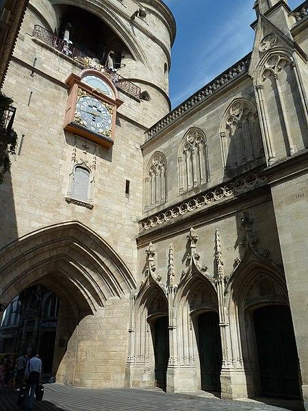 Photo du Monument Historique Eglise Saint-Eloi situé à Bordeaux