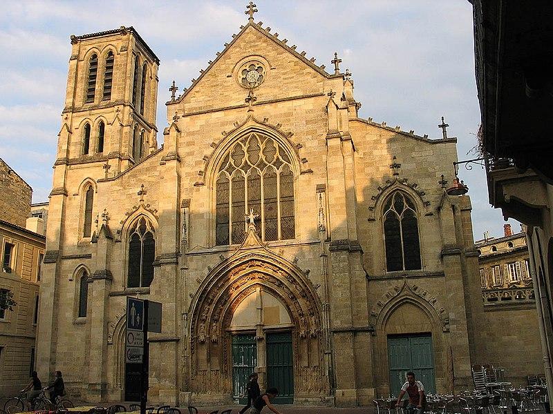Photo du Monument Historique Eglise Saint-Pierre situé à Bordeaux