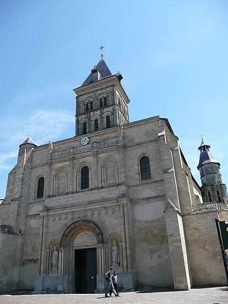 Photo du Monument Historique Eglise Saint-Seurin situé à Bordeaux