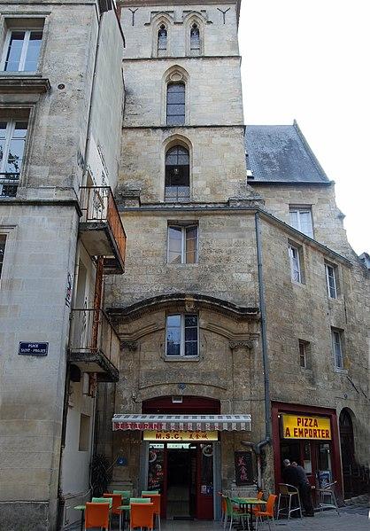 Photo du Monument Historique Eglise Saint-Projet situé à Bordeaux