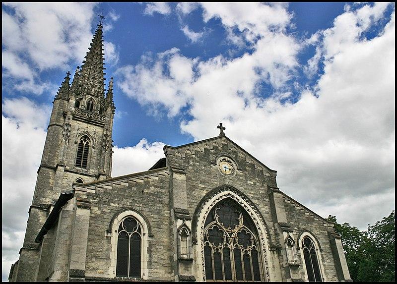 Photo du Monument Historique Eglise Sainte-Eulalie situé à Bordeaux