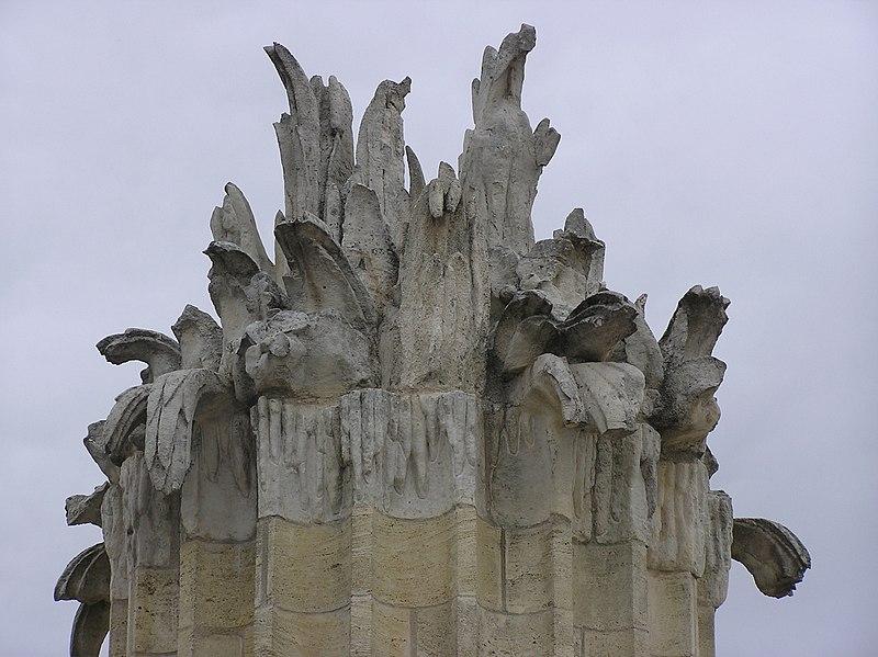 Photo du Monument Historique Fontaine du 18e siècle situé à Bordeaux