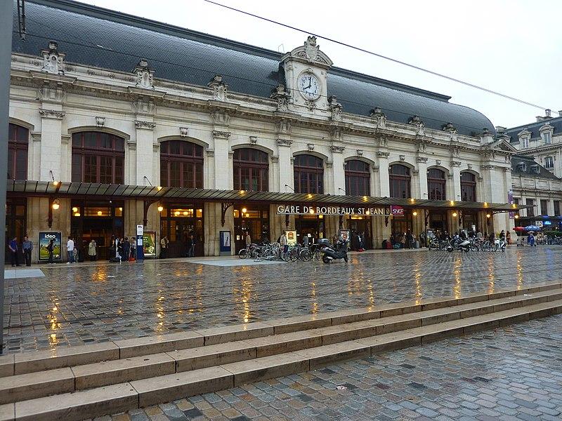 Photo du Monument Historique Gare de Bordeaux-Saint-Jean situé à Bordeaux