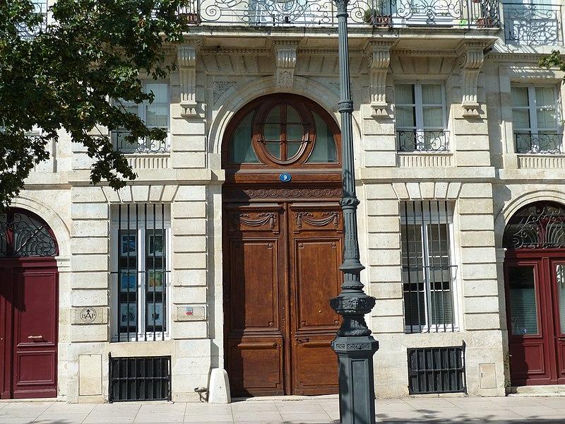 Photo du Monument Historique Hôtel Baour situé à Bordeaux