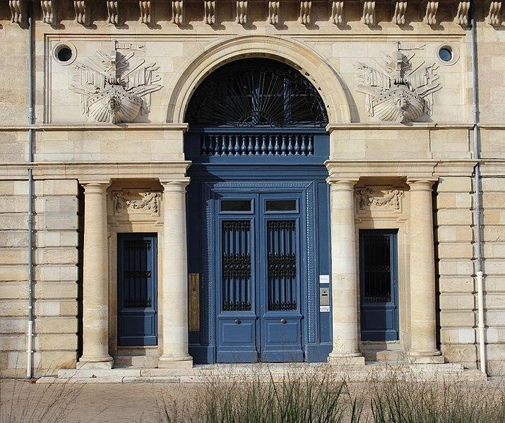 Photo du Monument Historique Hôtel Fenwick situé à Bordeaux