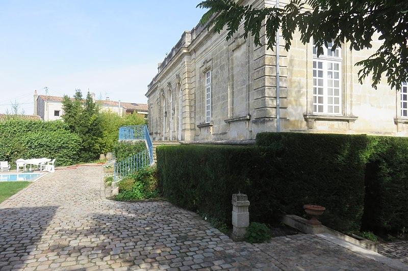 Photo du Monument Historique Ancien Hôtel Marbotin situé à Bordeaux