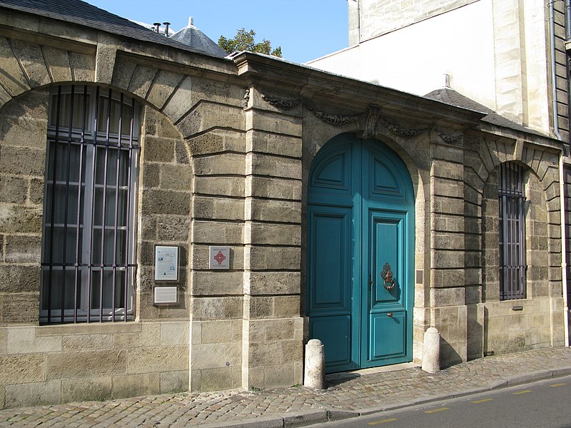 Photo du Monument Historique Hôtel dit Petit hôtel Labottière situé à Bordeaux