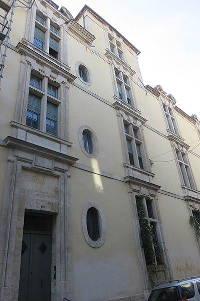 Photo du Monument Historique Immeuble (reste du Noviciat des Jésuites) situé à Bordeaux