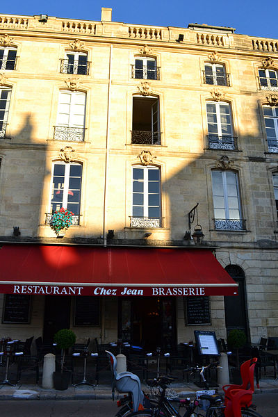 Photo du Monument Historique Immeuble situé à Bordeaux