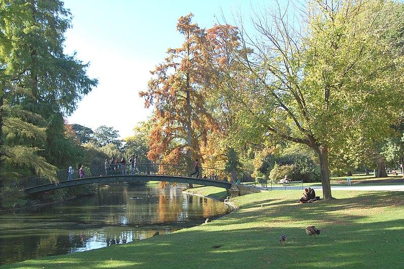 Photo du Monument Historique Jardin public situé à Bordeaux