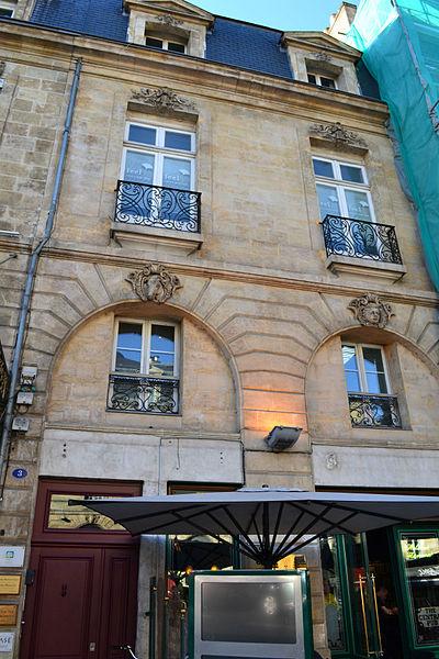 Photo du Monument Historique Maison situé à Bordeaux