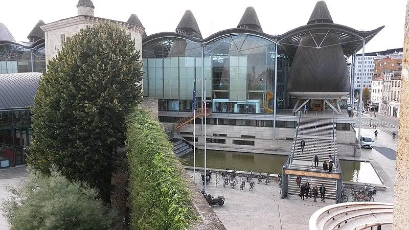 Photo du Monument Historique Palais de Justice situé à Bordeaux