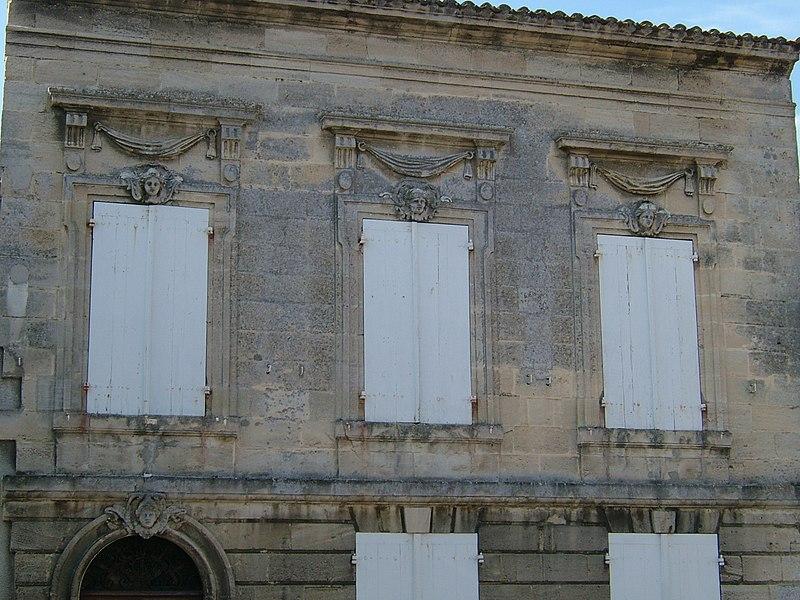 Photo du Monument Historique Maison du 18e siècle situé à Bourg