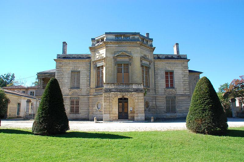Photo du Monument Historique Castel d'Andorte situé à Le Bouscat