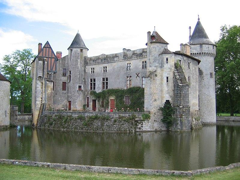 Photo du Monument Historique Domaine connu sous le nom de Domaine de Montesquieu ou château de La Brède situé à La Brède