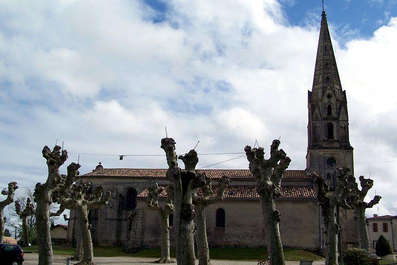 Photo du Monument Historique Eglise Saint-Romain situé à Budos