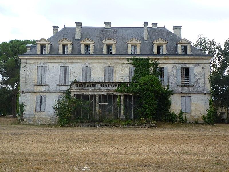 Photo du Monument Historique Château de Saige situé à Cadaujac