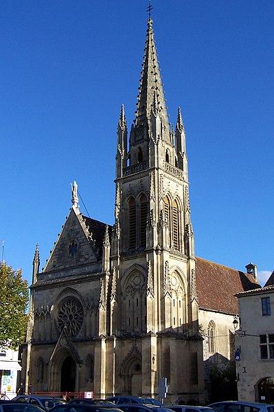 Photo du Monument Historique Eglise Saint-Martin situé à Cadillac