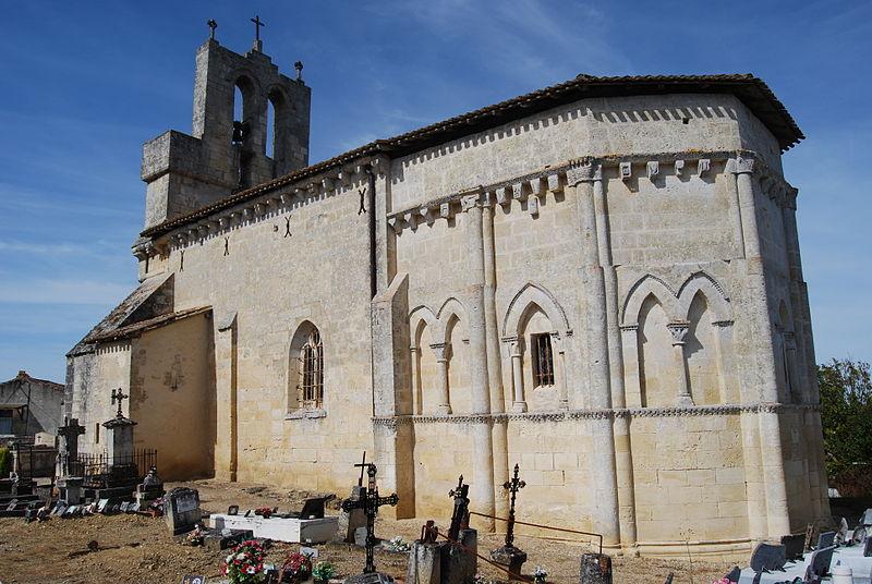 Photo du Monument Historique Eglise Saint-Saturnin situé à Camarsac