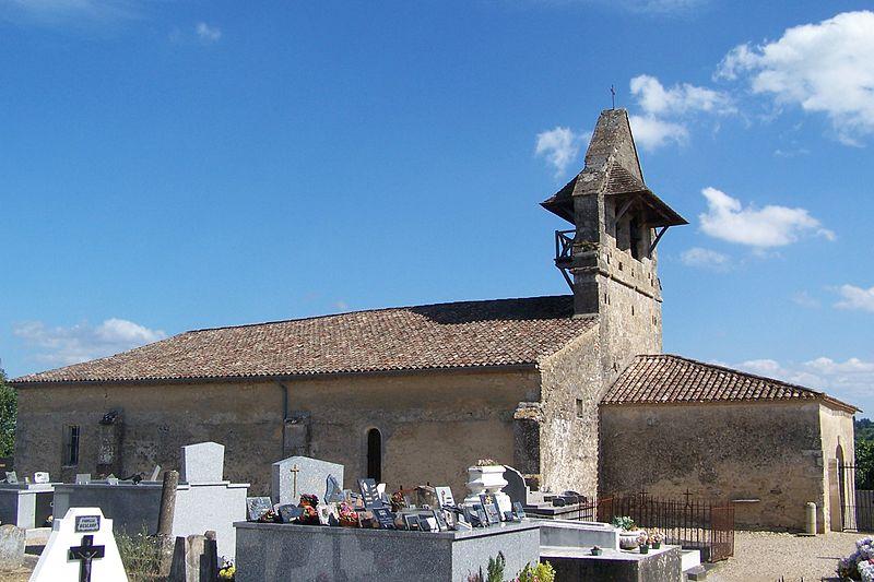 Photo du Monument Historique Eglise Saint-Pierre situé à Camiran